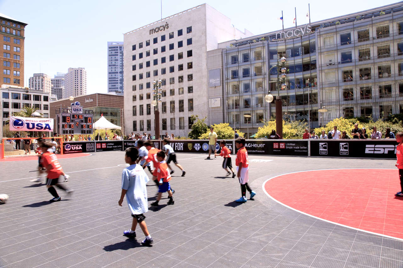 Street Soccer USA, Union Square